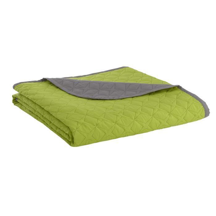 boutis couvre lit acrylique celeste vert anis achat vente jet e de lit boutis cdiscount. Black Bedroom Furniture Sets. Home Design Ideas