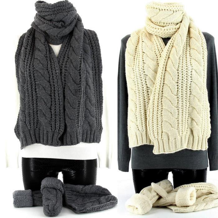 bonnet echarpe gants laine polaire avoria beige achat vente bonnet cagoule bonnet. Black Bedroom Furniture Sets. Home Design Ideas