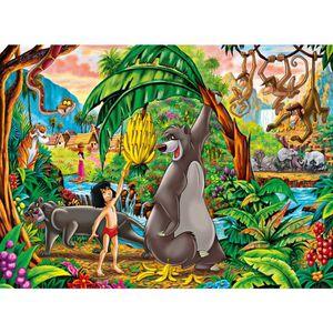 puzzle le livre de la jungle achat vente jeux et jouets pas chers. Black Bedroom Furniture Sets. Home Design Ideas