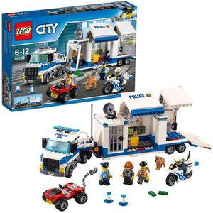 ASSEMBLAGE CONSTRUCTION LEGO® City 60139 Le Poste de Commande mobile