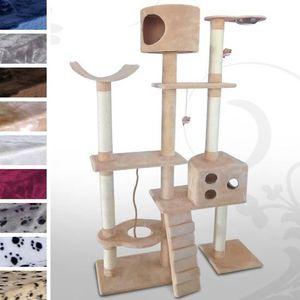 arbre a chat geant achat vente arbre a chat geant pas cher cdiscount. Black Bedroom Furniture Sets. Home Design Ideas
