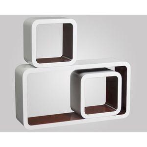 etagere cube en bois achat vente etagere cube en bois pas cher cdiscount. Black Bedroom Furniture Sets. Home Design Ideas