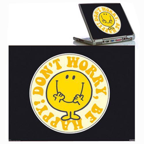 Sticker pour ordinateur portable mr happy achat vente stickers stickers - Stickers pour maison ...