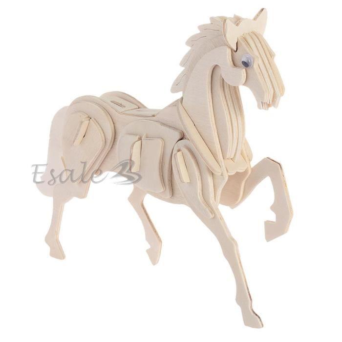 puzzle 3d casse t te en bois forme cheval jouet jeux ducatif enfant cadeau 6913283355139. Black Bedroom Furniture Sets. Home Design Ideas