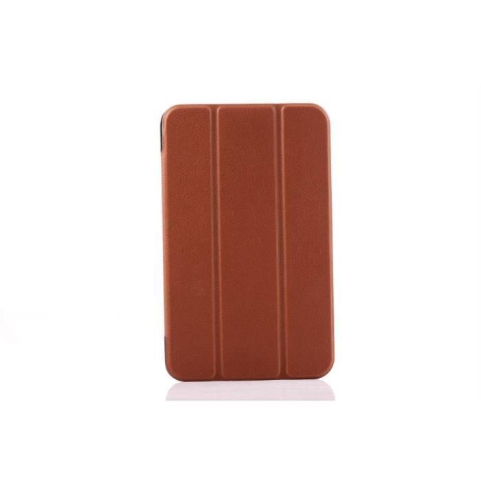 codream asus memo pad 7 me 176cx housse etui ultra mince en cuir pu avec fonction de support