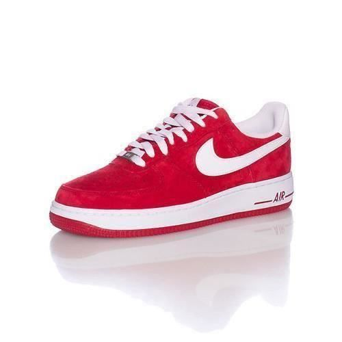 air force one montante - NIKE AIR FORCE 1 ROUGE rouge - Achat / Vente basket - Cdiscount