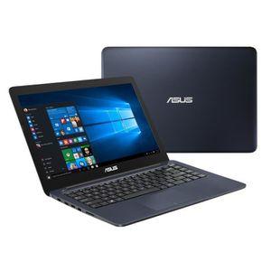 """Asus EeeBook PC Portable Bleu - E402SA-WX013T - 14"""" - Intel® Celeron® - 2Go de RAM - Stockage 3"""