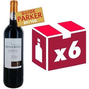 VIN ROUGE Domaine Baptiste Boutes Minervois 2013 - Vin rouge