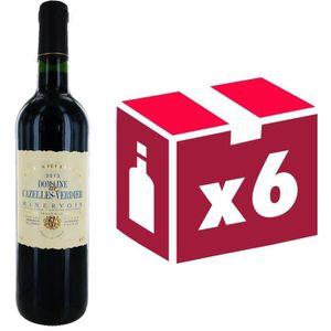 VIN ROUGE Domaine Cazelles Verdier Minervois 2013 - Vin roug