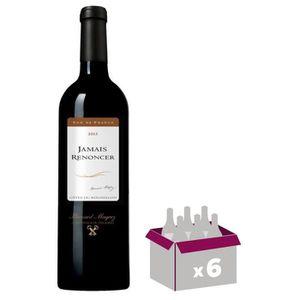 VIN ROUGE Jamais Renoncer Côtes du Roussillon 2013 - Vin rou
