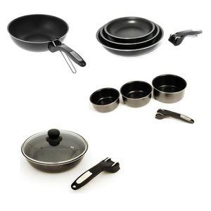 batterie de cuisine achat vente batterie de cuisine pas cher les soldes sur cdiscount. Black Bedroom Furniture Sets. Home Design Ideas