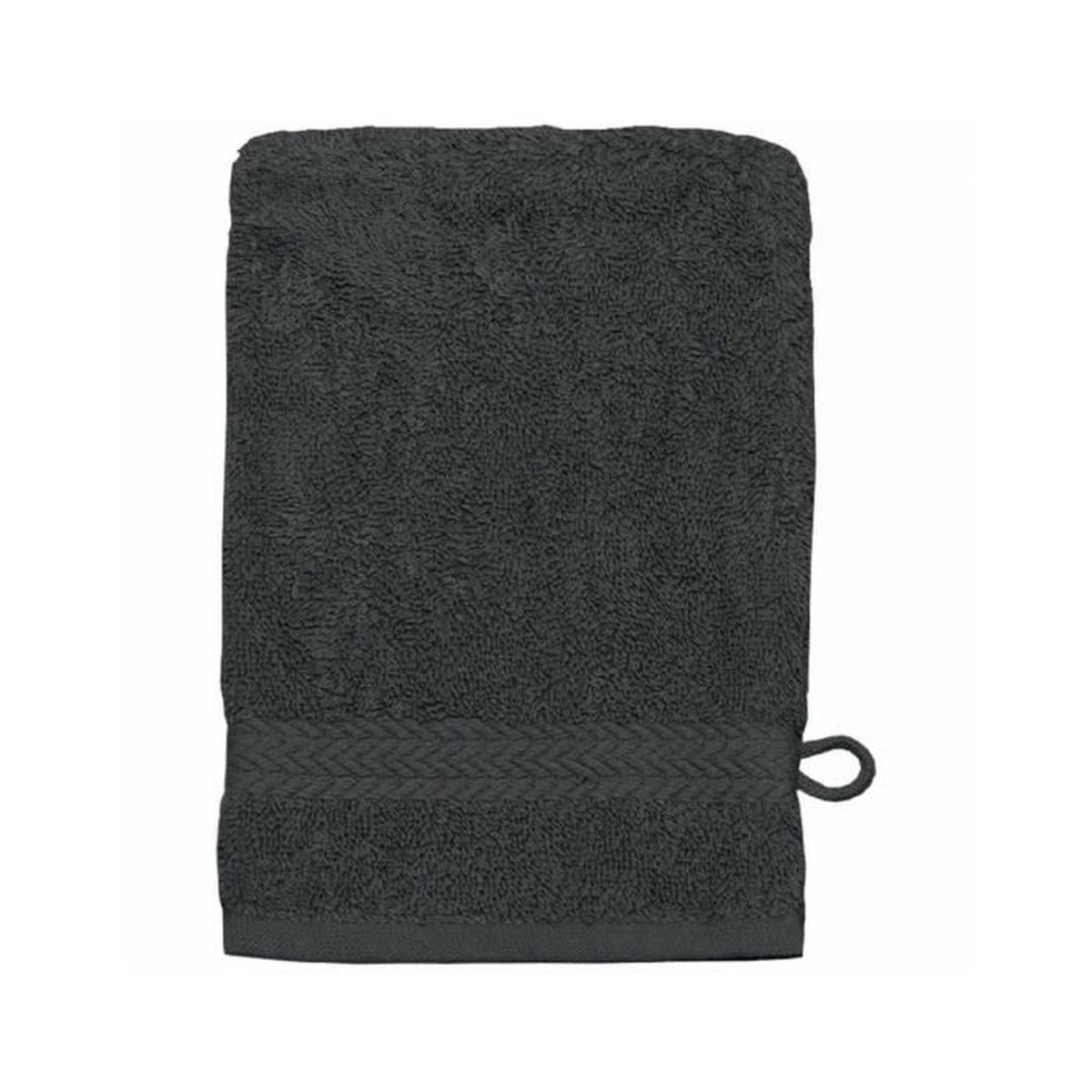 gant de toilette 16 x 22 cm en coton couleur an achat vente gant de toilette gant de. Black Bedroom Furniture Sets. Home Design Ideas