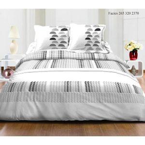 parure de draps pour lit 160 achat vente parure de draps pour lit 160 pas cher cdiscount. Black Bedroom Furniture Sets. Home Design Ideas
