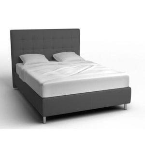 lit 140 x 190 achat vente lit 140 x 190 pas cher les soldes sur cdiscount cdiscount. Black Bedroom Furniture Sets. Home Design Ideas