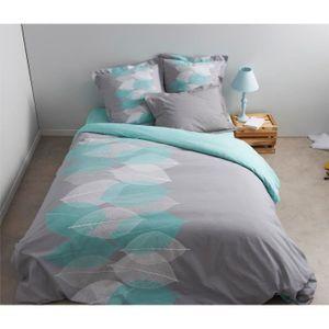drap housse vert achat vente drap housse vert pas cher cdiscount. Black Bedroom Furniture Sets. Home Design Ideas