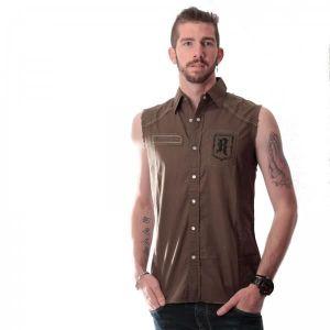 chemise sans manche homme achat vente chemise sans. Black Bedroom Furniture Sets. Home Design Ideas