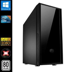 UNITÉ CENTRALE  PC de Bureau, Intel i7 4x3.40GHz, 16Go RAM