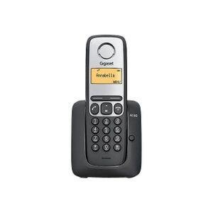 Téléphone fixe Gigaset A130 Noir