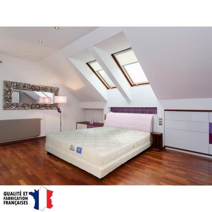 benois belle literie matelas 140x190cm 21cm 312 ressorts bic niques tr s ferme 35 kg m achat. Black Bedroom Furniture Sets. Home Design Ideas
