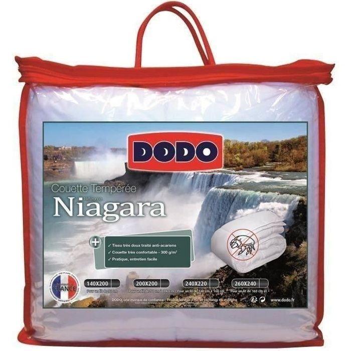 Dodo couette temp r e anti acariens niagara 140x200 cm for Anti acariens maison