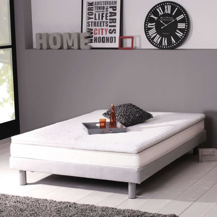dormipur surmatelas v570 140x190 cm m moire de forme. Black Bedroom Furniture Sets. Home Design Ideas