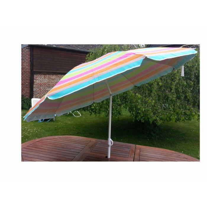 Parasol ray de 180cm anti uv achat vente parasol - Parasol de plage anti uv ...