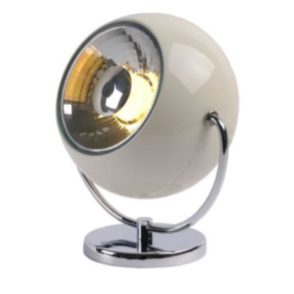lucide lampe poser comet spot orientable cr me achat