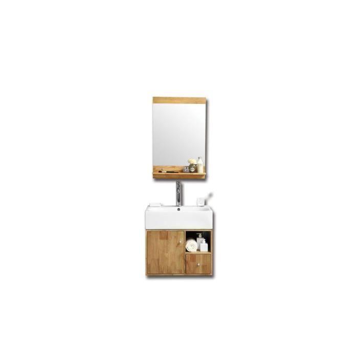 Meuble de salle de bain evan achat vente salle de bain for Sdb complete