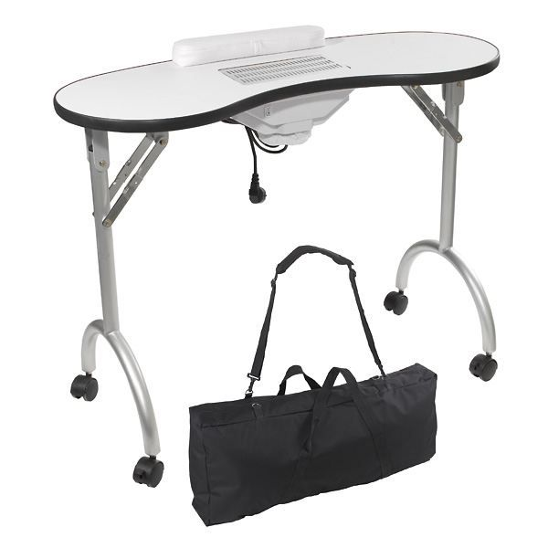 Table manucure pliante avec aspirateur peggy sage achat for Meuble avec table pliante