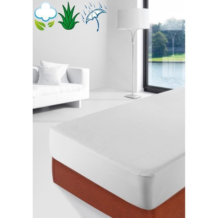 savel p matelas eponge aloe vera 140x190 achat vente prot ge matelas cdiscount. Black Bedroom Furniture Sets. Home Design Ideas