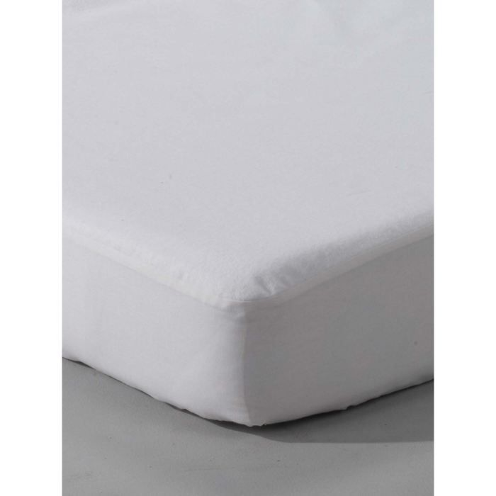 Prot ge matelas molleton absorbant 140x190 200cm achat vente prot ge matelas cdiscount for Protege matelas x