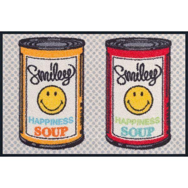 Tapis Design Smiley Happiness Soup 50 X 75 Achat Vente Tapis Les Soldes Sur Cdiscount