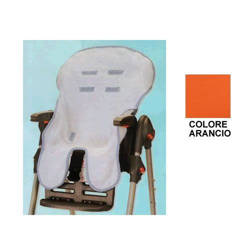 Housse pour chaise haute willy co orange orange achat - Housse protection chaise haute ...