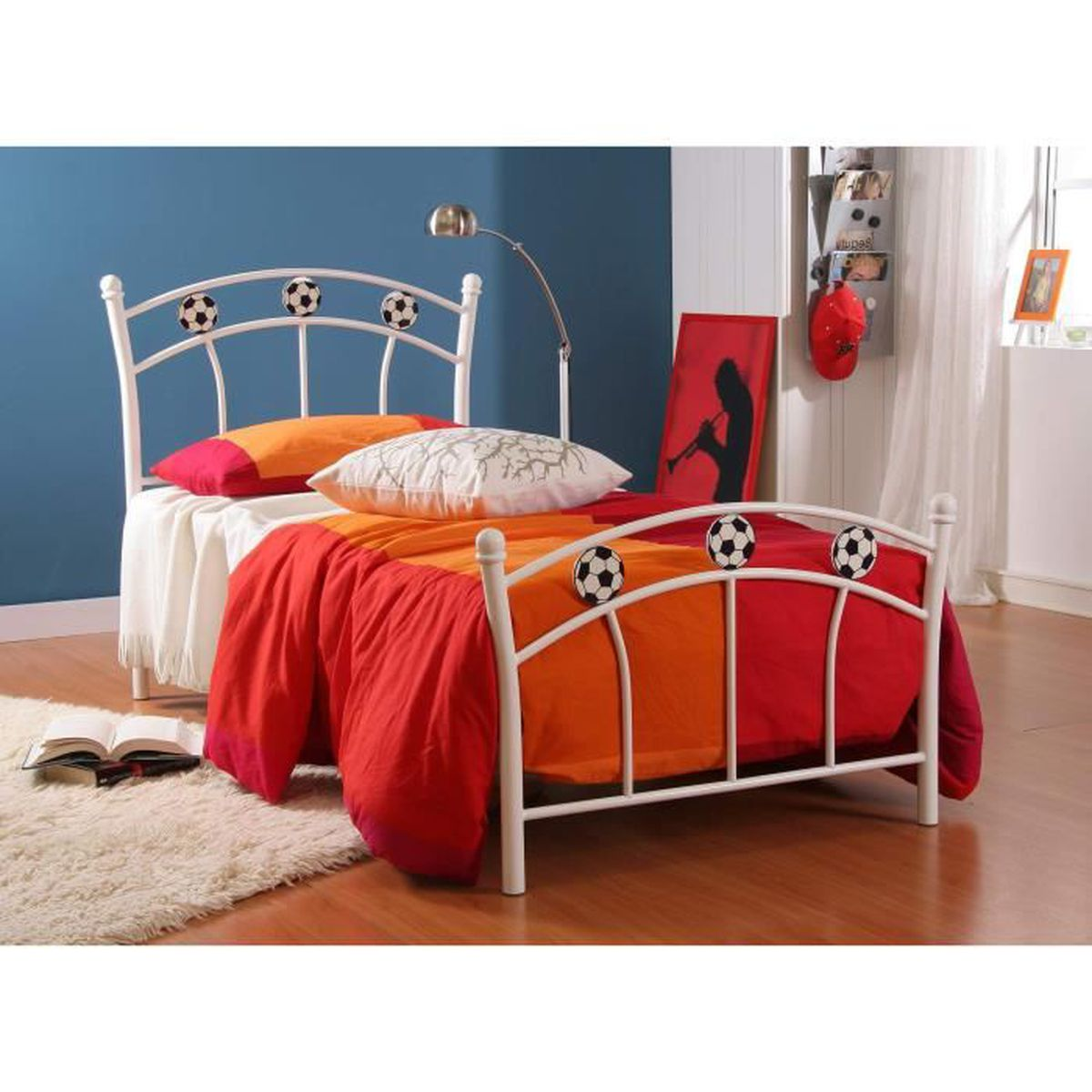 Lit enfant foot achat vente lit complet lit enfant foot cdiscount - C discount lit enfant ...