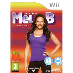 JEUX WII GET FIT WITH MEL B / Jeu Wii