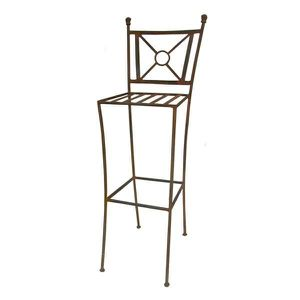 tabouret fer forge achat vente tabouret fer forge pas cher cdiscount. Black Bedroom Furniture Sets. Home Design Ideas