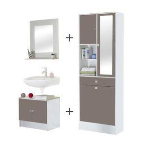 tablette sous vasque achat vente tablette sous vasque pas cher cdiscount. Black Bedroom Furniture Sets. Home Design Ideas