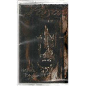 CD HARD ROCK - MÉTAL POISON NATIVE TONGUE - Cassette audio