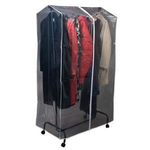 Housse portant achat vente housse de rangement peva - Housse de portant vetement ...