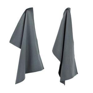 torchons de cuisine gris achat vente torchons de cuisine gris pas cher cdiscount. Black Bedroom Furniture Sets. Home Design Ideas