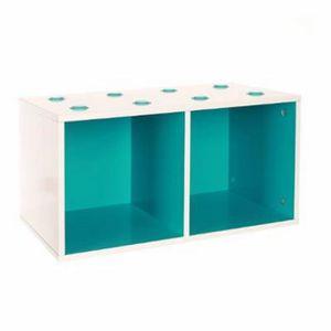 cubes de rangement empilables achat vente cubes de. Black Bedroom Furniture Sets. Home Design Ideas