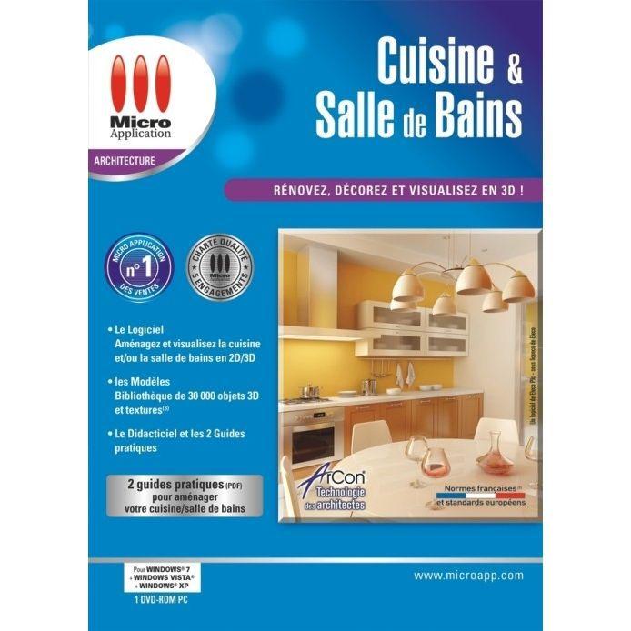Cuisine et salle de bains 3d pc dvd rom prix pas cher cdiscount - Cuisine et salle de bain ...