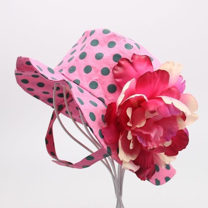 chapeaux t polka rose 18 mois 3 ans achat vente chapeau bob 2009943069141 cdiscount. Black Bedroom Furniture Sets. Home Design Ideas
