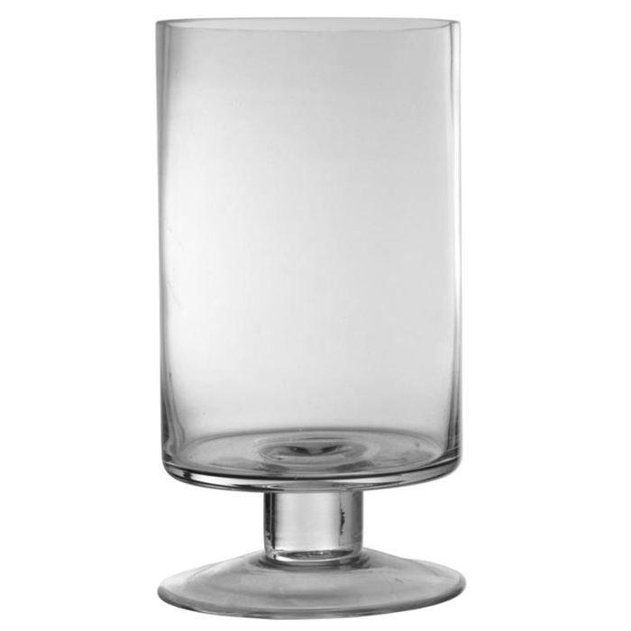 photophore sur pied en verre souffl e bouche achat vente photophore lanterne cdiscount. Black Bedroom Furniture Sets. Home Design Ideas