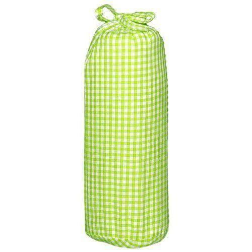 Taftan drap housse vichy vert anis 70 x 140 cm vert anis - Housse de couette vert anis ...