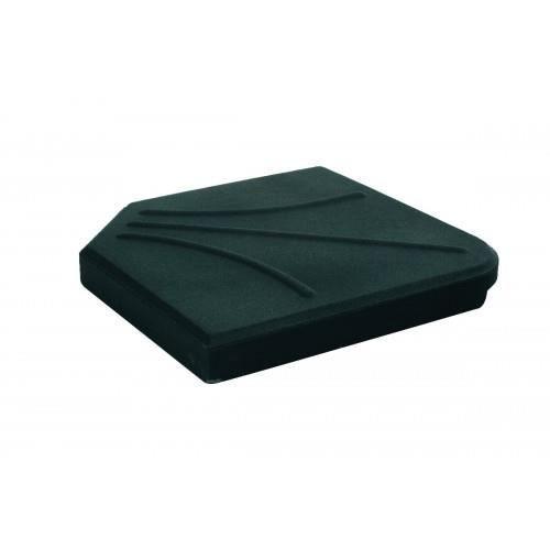 dalle 15kg pied de parasol en croix hesperide noir achat vente dalle pied de parasol dalle. Black Bedroom Furniture Sets. Home Design Ideas