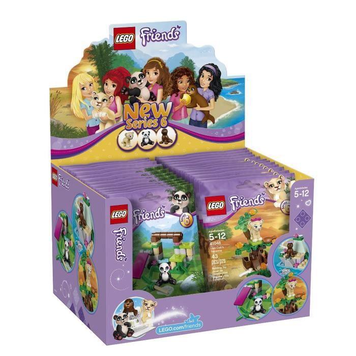 Lego friends 6029277 boite 24 sachets s rie 6 achat vente assemblage construction soldes - Jeux lego friends gratuit ...