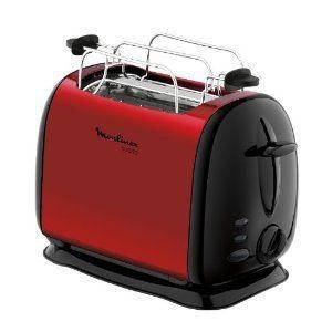 toaster rouge table de cuisine. Black Bedroom Furniture Sets. Home Design Ideas