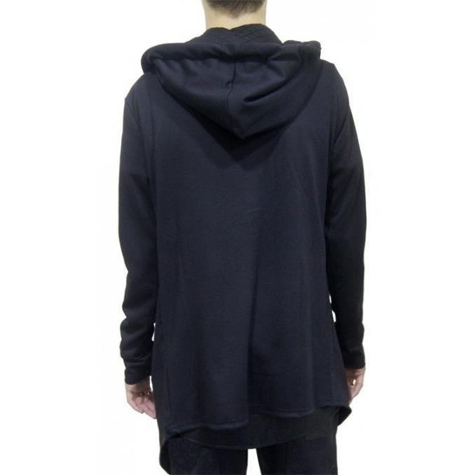 sweat capuche zipp oversize noi achat vente sweatshirt sweat capuche zipp oversiz. Black Bedroom Furniture Sets. Home Design Ideas