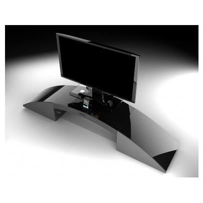Meuble tv home cin ma int gr decibel noir achat vente meuble tv meuble - Meuble home cinema integre ...